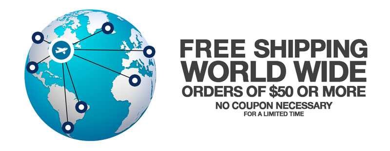 Free Shipping World Wide