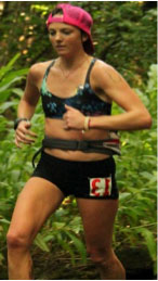 Candice Burt is a competitive ultra-runner specializing in the 100 mile and longer distances