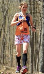 Chantal Warriner Canadian Trail Running Champion
